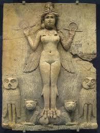 Lilith – the night demon of Babylon. British Museum
