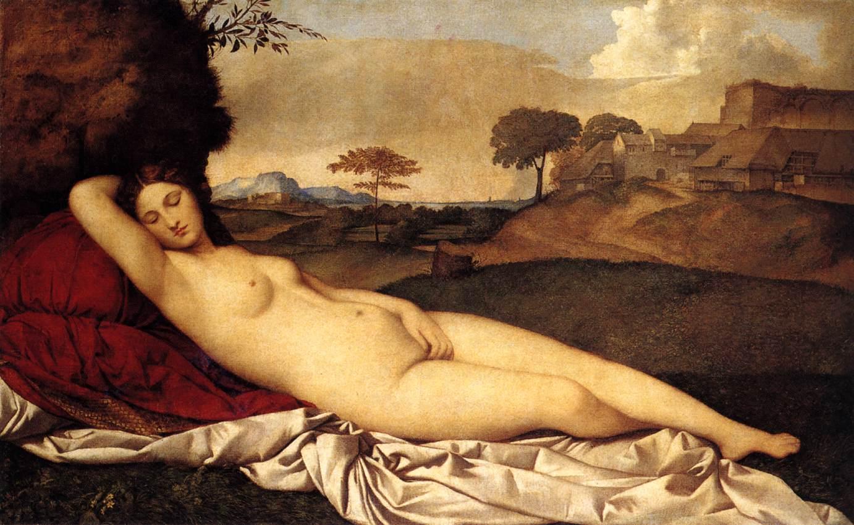 sleeping venus giorgione
