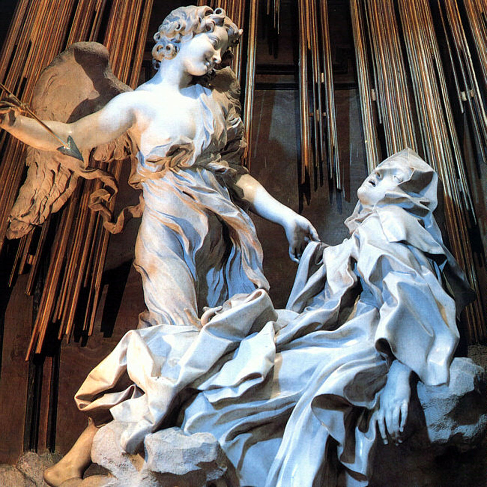 Bernini, Ecstasy of Saint Teresa