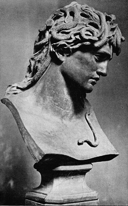 Evelyn De Morgan, Medusa