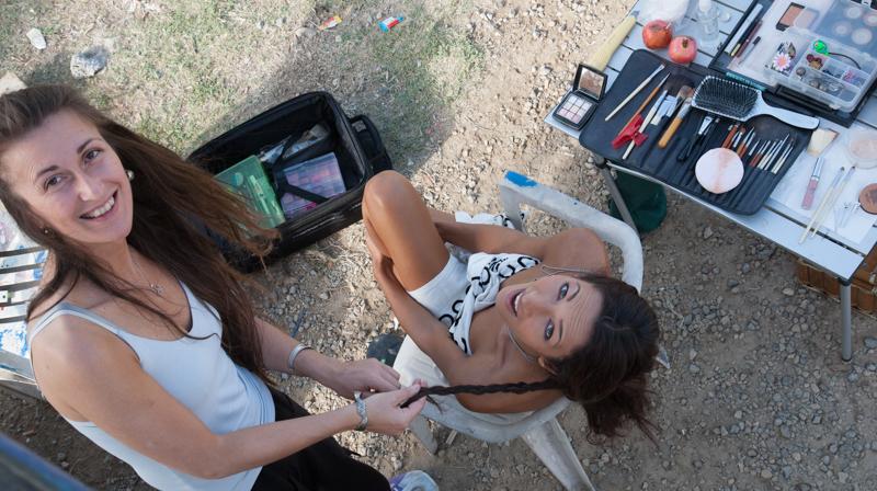Mary make-up