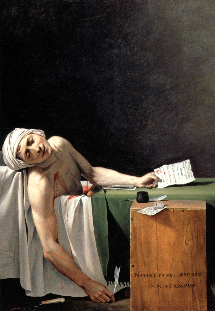 Marat, David.Louvre