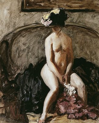 The Black Hat.Wilson Steer
