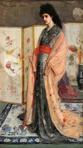 James Whistler, La Princesse du pays de la porcelaine
