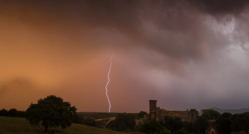 Vulci thunderstorm