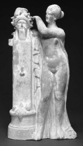 Aphrodite crowning a Herm